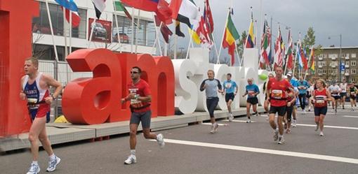 Amsterdam marathon header