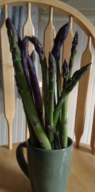 Asparagus, Mushroom and Tomato Stir Fry 6