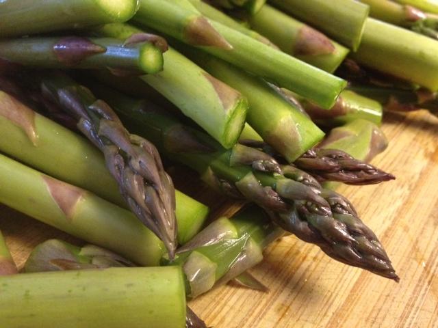 asparagus & saffron fetuccini 2