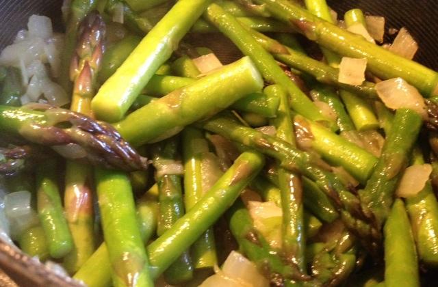 asparagus & saffron fetuccini 3