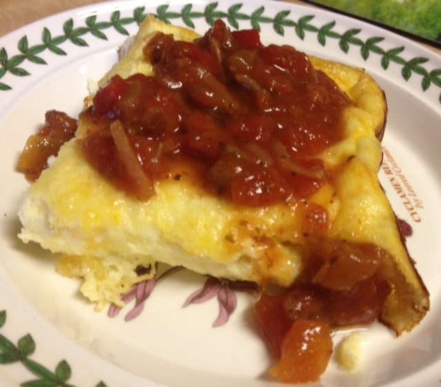 chiles rellenos egg bake