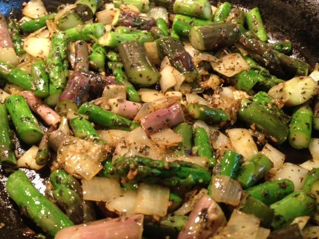recipe: asparagus and artichoke pasta [35]