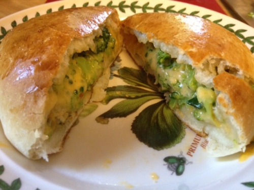 broccoli cheese pockets 6