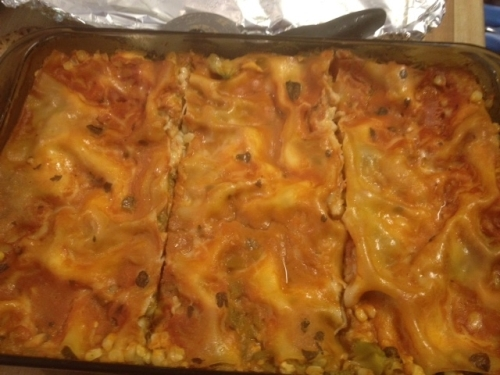 Mexican Broccoli Lasagna a