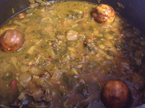 qormeh sabzi with chicken 10