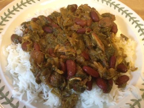 qormeh sabzi with chicken 12