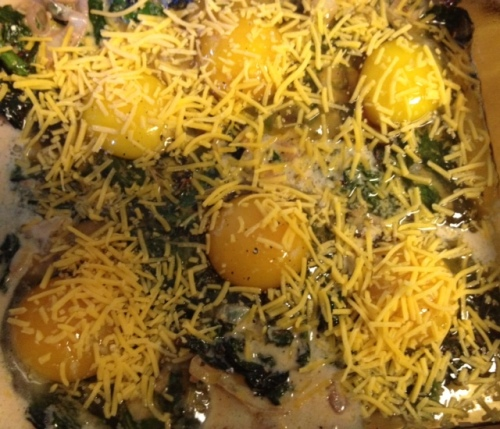 Swiss Chard & Egg Bake 3