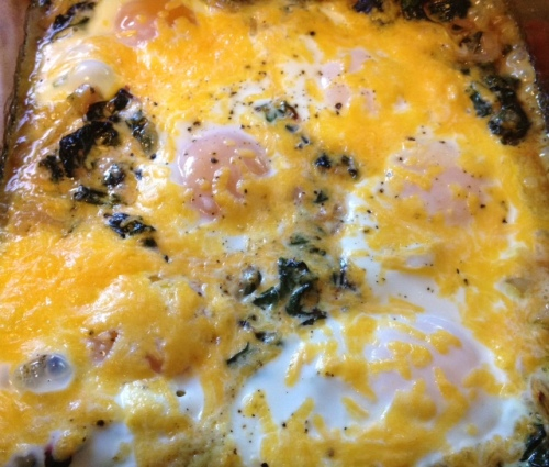 Swiss Chard & Egg Bake 5