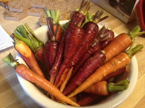 roasted carrots 1