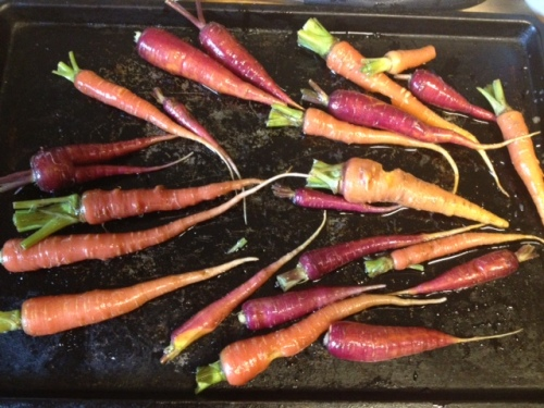 roasted carrots 2