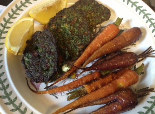 roasted carrots 4