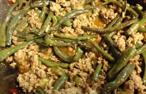 turkey & string-bean stir-fry 5