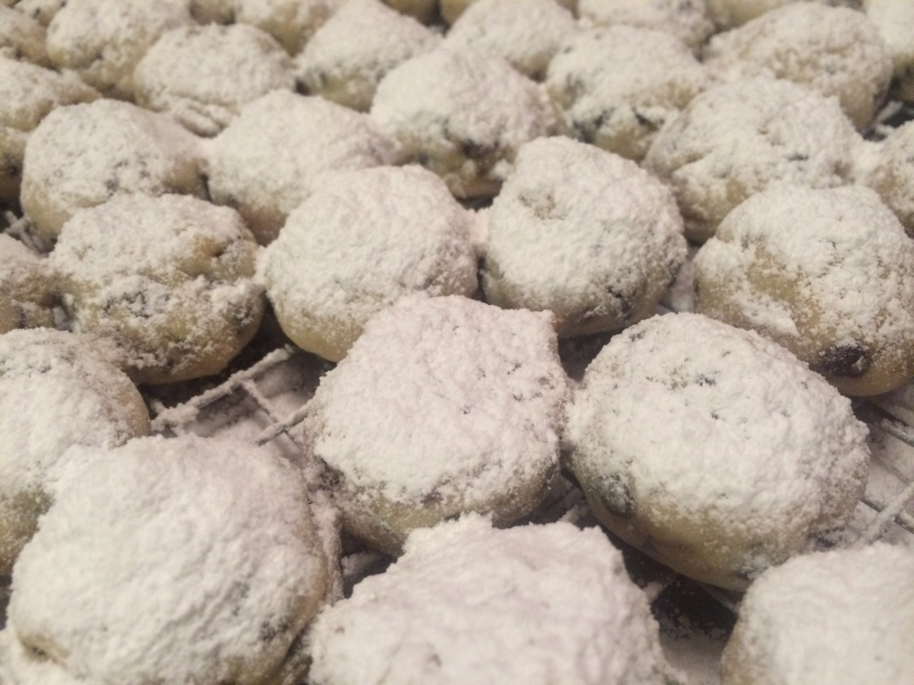 Here's a link to the Nestle's recipe for mini chip snowball cookies