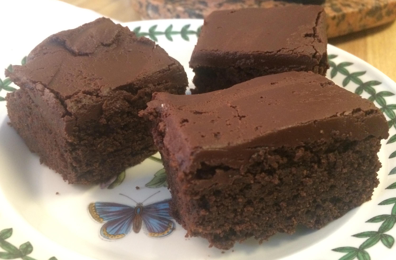 Dark Chocolate Buckwheat Brownies with Nutella Ganache ...