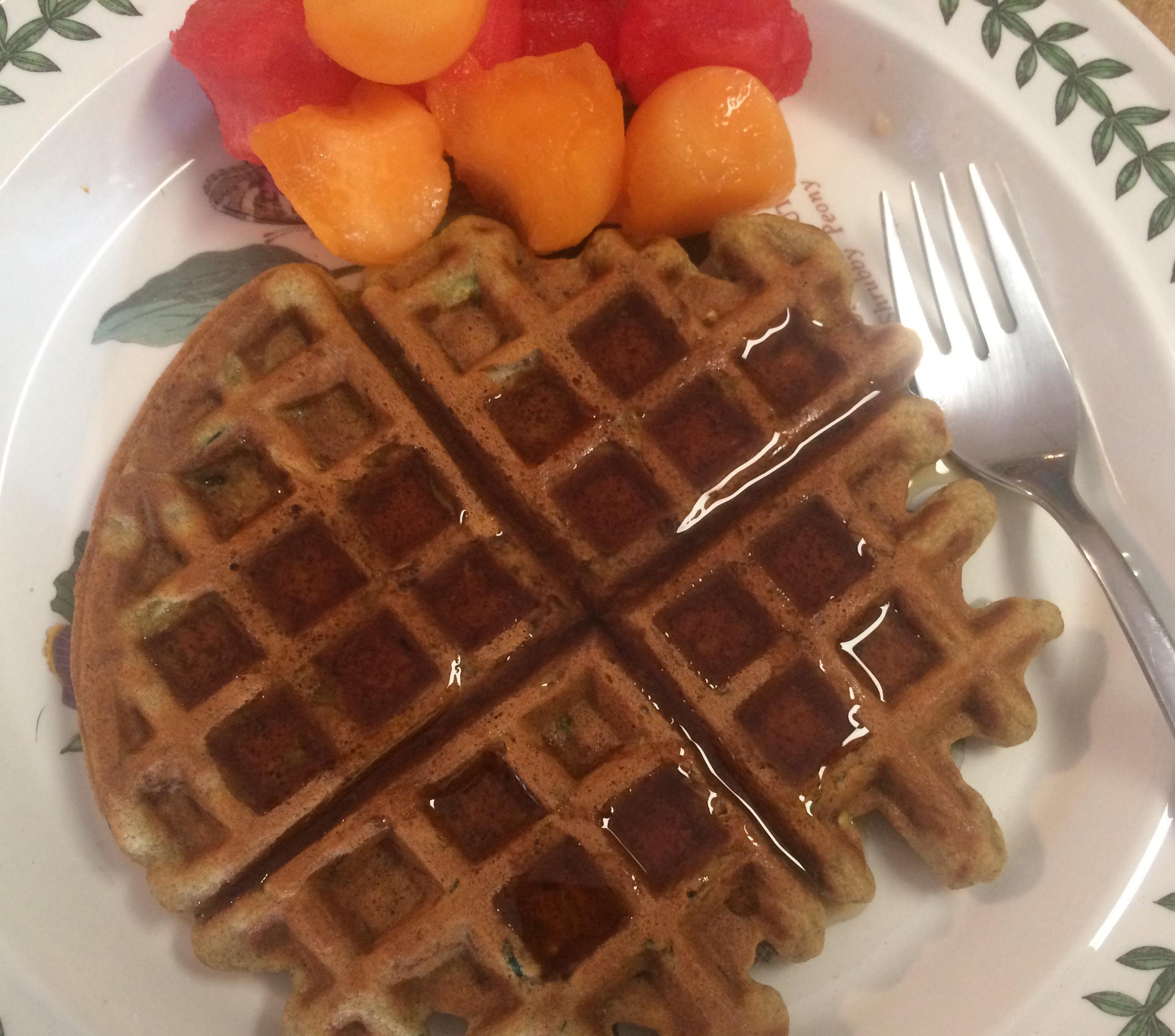 Smitten Kitchen Waffles: Andrea's Garden Cooking